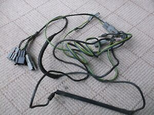 1974 1978 Ford Mustang Ii Cobra Map Dome Light Seatbelt Wire Harness Dash Oem