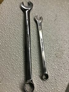 Matco Lot Of 2 Combo Wrenches Usa