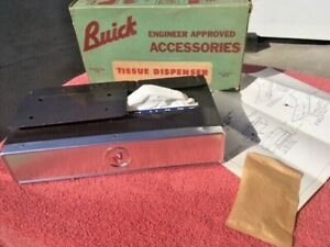 1960 Buick 1958 1959 Nos Auto Serv Accessory Under Dash Tissue Dispenser Box
