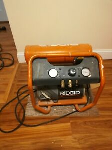 Ridgid 4 5gal Air Compressor Portable Industrial Used Local Pickup Only ma02171
