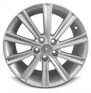 Set Of 4 Aluminum Wheel Rim 17 Inch Fits 12 14 Toyota Camry 10 Spokes 5 Lug