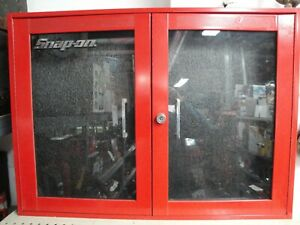 Snap On Wall Cabinet Plexiglas Door Kra276d Red 33 7 8 X 24 3 4 X 6
