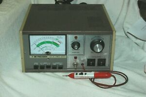 B k 1655 Variable Isolated Power Supply With Leakage Probe variac Tested