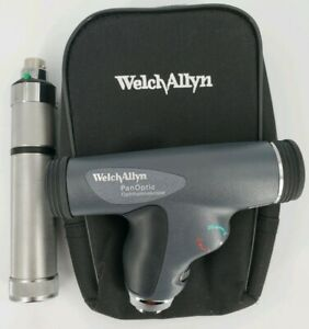 Welch Allyn 3 5v Panoptic Ophthalmoscope With Direct Plug in Rechargeable Handle
