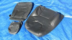 01 04 Volvo S60 V70 2 4t 2 5t Oem Charcoal Driver Left Side Leather Seat Cover