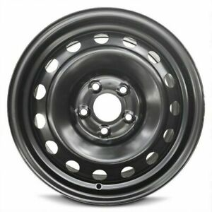 4 Steel Wheel Rims 16 Inch Fits 14 17 Kia Rondo Black Full Size 5 Lug 4 5 New
