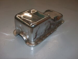 Used 1965 1987 Sb Ford 5 0l 289 302 Front Sump Chrome Racing Oil Pan 9078