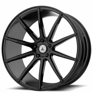 4ea 20 Staggered Asanti Wheels Abl 20 Aries Gloss Black Rims s11