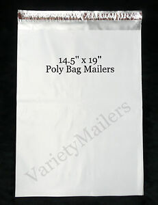 9 Large Poly Bag Mailers 14 5x19 2 5 Mil Quality Shipping Envelope Bags