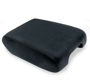 Fits 13 19 Nissan Pathfinder Leather Synthetic Console Lid Armrest Cover Black