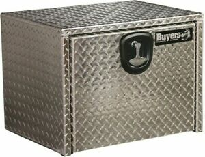 Buyers Products 14 X 12 X 24 Silver Underbody Truck Tool Boxes Diamond Aluminum
