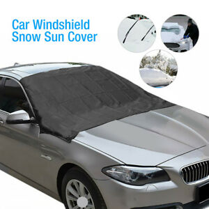 Magnetic Car Windshield Cover Snow Frost Ice Guard Winter Protector Sun Shade