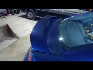 Rear Spoiler Sedan Blue 25e Fits 04 06 Mazda 3 346101