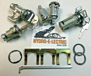New 1969 1970 Cadillac 2 door Complete Oe Style Lock Set With Gm Keys