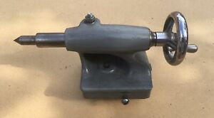 6 Atlas Craftsman 618 101 Lathe Tail Stock With Dead Center
