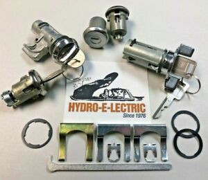 New 1971 1973 Cadillac Complete Oe Style Lock Set With Gm Keys