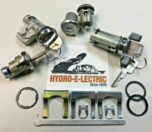 New 1971 1973 Cadillac Complete Oe Style Lock Set With Cadillac Gm Keys
