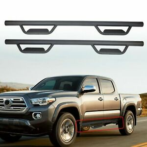 For 05 20 Toyota Tacoma Double crew Cab 3 Running Board Nerf Bar Hoop Side Step