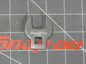 Unused Snap On 3 8 Dr Open End Crowfoot Wrench 3 4 Fco24a Crows Crow Foot