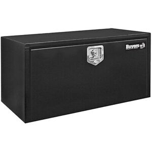 Buyers Products Black 15 X 10 X 24 Black Underbody Steel Truck Box T Handle Latc