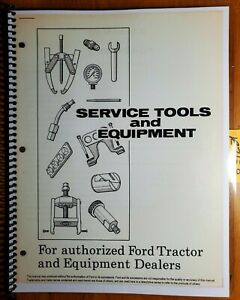 Ford 500 700 701 900 901 4000 1800 4040 Tractor 1948 Service Tools Manual 11 67
