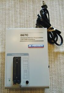 Bk Precision 867c Universal Device Programmer W usb Interface Made In Slovakia