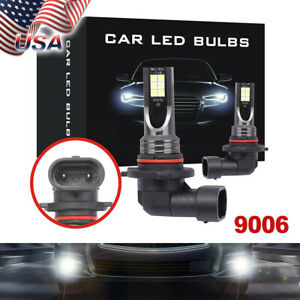 Led Fog Light Bulbs Kit 9006 Hb4 6000k White 100w For 2007 2010 Infiniti G35 G37