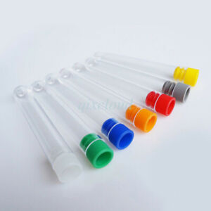 Wholesale Plastic Test Tube Vial With Screw Seal Caps Container Lab Test Supply
