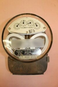Vintage General Electric Type I 16 Watthour Meter