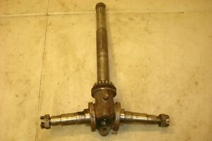 1953 Oliver 77 Tractor Narrow Front Spindle Assembly