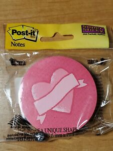 Post It Notes 3x3 Red Heart Love Note Package Of 100 Sticky Notes Valentines Day