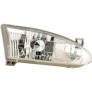 For Chevy Prizm 1998 1999 2000 2001 2002 Right Side Headlight Assembly Gap
