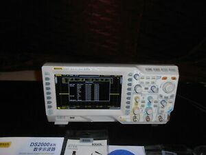 Rigol Oscilloscope Ds2072 2gsa s 200mhz 2 Channel