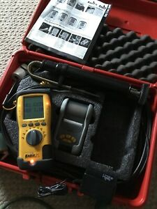 Uei C155 Eagle 2x Combustion Analyzer Used With Printer
