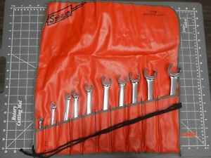 Snap On Tools 10pc Sae Flare Nut Line Wrench Set 1 4 1 1 8 Rxfs Rxfs2836a Nice