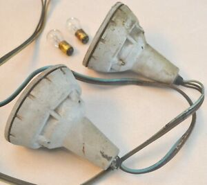 1959 Ford Fairlane Galaxie Parking Lamp Light Body Housing Cones Wiring