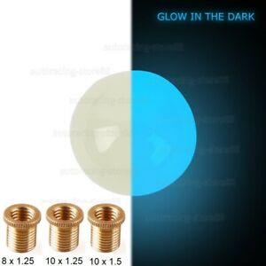 Jdm Glow In The Dark Blue Ball Shift Knob For Honda Acura Toyota Lexus M10x1 5