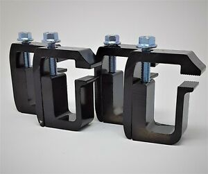G 1 Black Clamps 4 Mount Truck Cap Camper Topper On Short Bed New Other Flaws