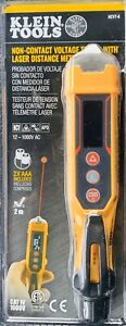 Klein Tool Non contact Voltage Tester With Distance Meter Ncvt 6
