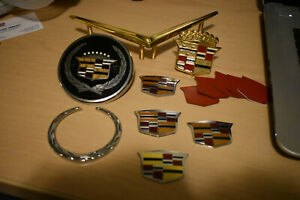 Cadillac Hood Ornaments Excellent Condition Deville Seville Lot All New