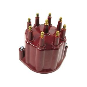 Petronix Flame Thrower Ptx Billet Distributor Cap D650711 Red Male Made In Usa