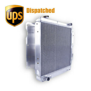 Aluminum 3 Row Core Performance Radiator For 87 06 Jeep Wrangler Yj Tj 2 4 4 2 L