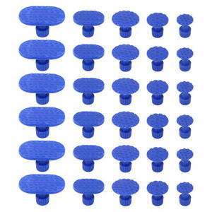 30pcs Car Body Hail Glue Puller Tabs Pulling Paintless Dent Repair Removal Tool