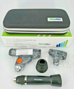 Led Welch Allyn Panoptic Ophthalmoscope Macroview Otoscope Lithium Ion Handle