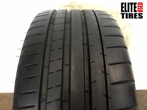 1 Michelin Pilot Super Sport P245 40zr18 245 40 18 Tire 8 0 8 75 32