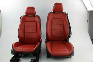 2015 Ford Mustang Front seats Cpe Airbag Leather Electric W Do