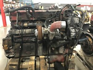 Isx runner Cummins 15l Isx 385st Engine running Eng Used