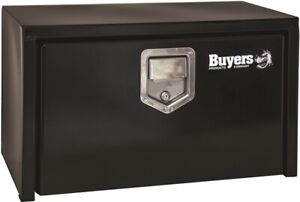 Buyers Products 18 X 18 X 24 Black Underbody Truck Tool Boxes Steel With Paddle