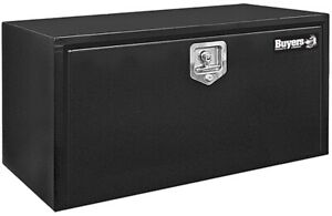 Buyers Products Black 14 X 12 X 18 Black Underbody Steel Truck Box T Handle Latc