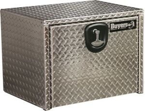 Buyers Products Silver 14 X 12 X 18 Silver Underbody Truck Tool Boxes Diamond Al